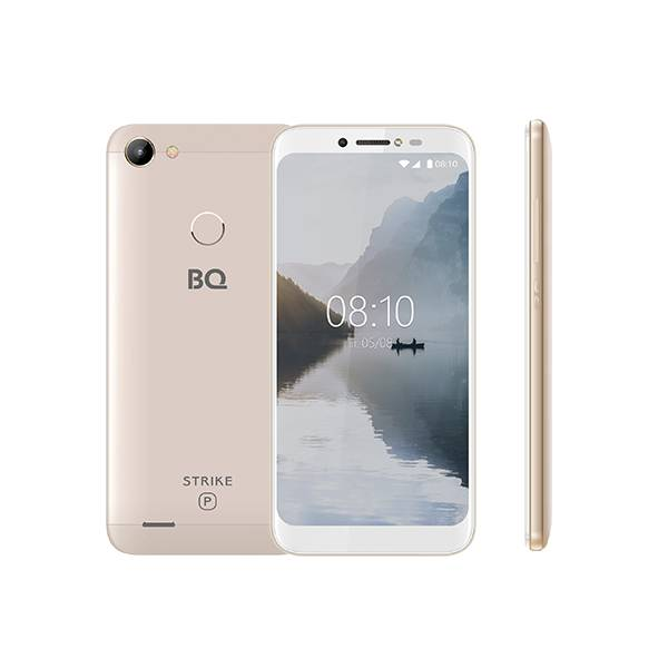 Смартфон BQ 5514G Strike Power (Золотой)