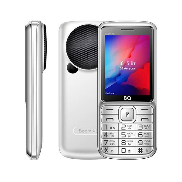 Телефон BQ-2810 BOOM XL (Серебряный)