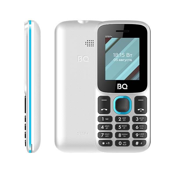 Телефон BQ 1848 Step+ (Бело-синий)