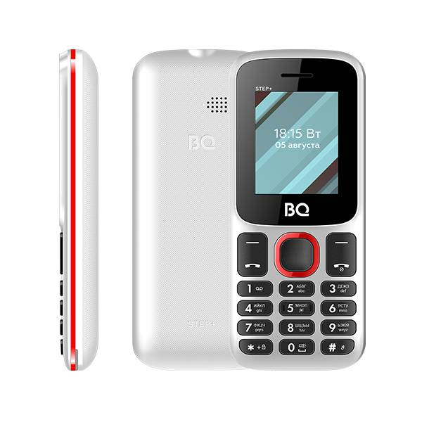 Телефон BQ 1848 Step+ (Черно-зеленый) фото 2