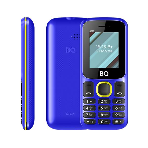 Телефон BQ 1848 Step+ (Бело-синий) фото 3
