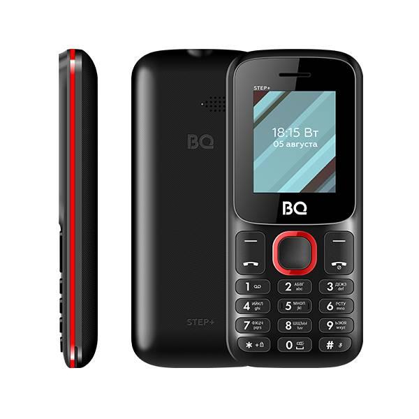 Телефон BQ 1848 Step+ (Черно-зеленый) фото 4