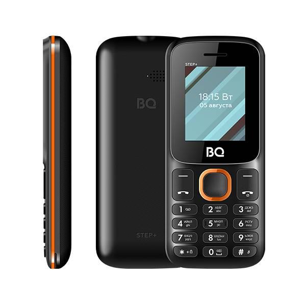 Телефон BQ 1848 Step+ (Черно-зеленый) фото 5