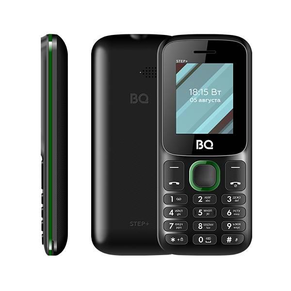 BQ 1848 Step+ (Черно-Зеленый)