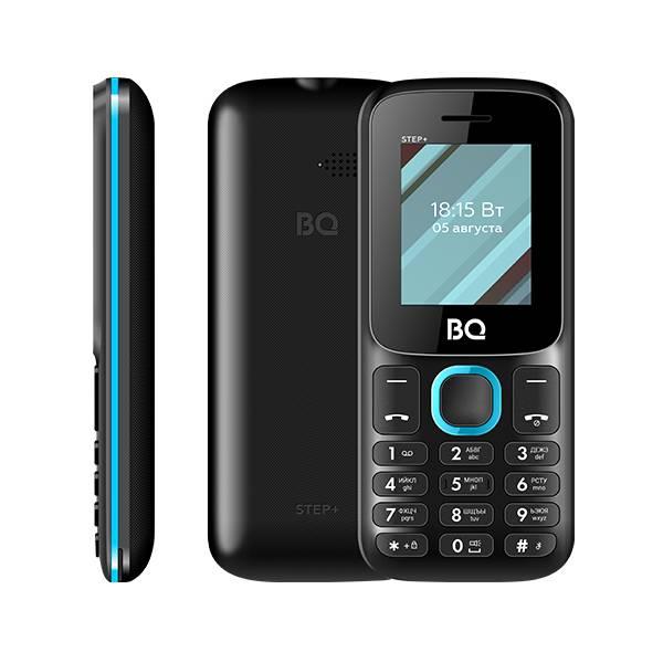 Телефон BQ 1848 Step+ (Черно-синий)