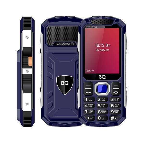 Телефон BQ 2817 Tank Quattro Power (Синий)