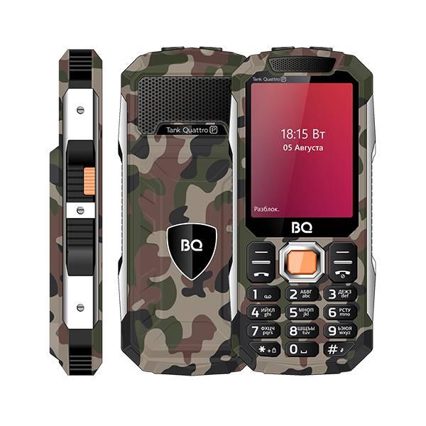 Телефон BQ 2817 Tank Quattro Power (Камуфляж)