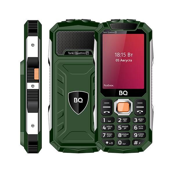 Телефон BQ 2817 Tank Quattro Power (Зеленый)