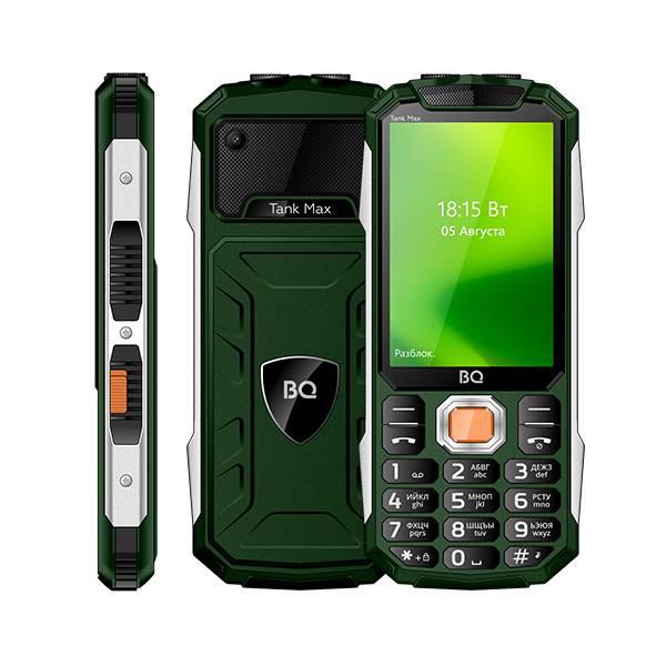 Телефон BQ 3586 Tank Max (Зеленый)