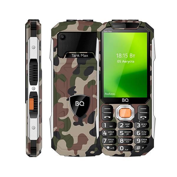 Телефон BQ 3586 Tank Max (Камуфляж)