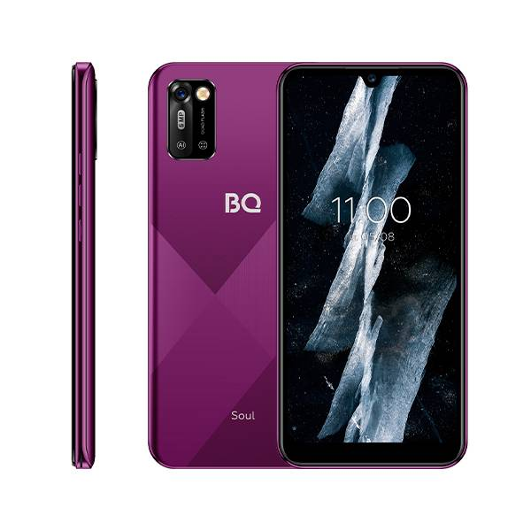 Смартфон BQ-6051G Soul 1+16 (Винно-красный)