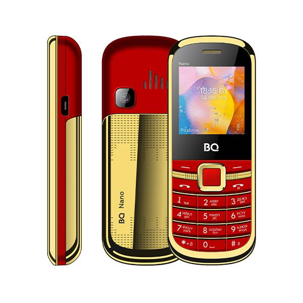 Телефон BQ 1415 Nano (Красный)