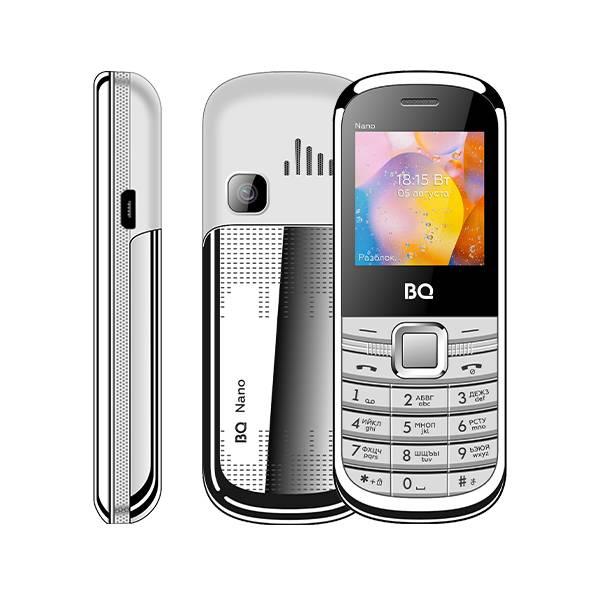 Телефон BQ 1415 Nano (Серебряный)