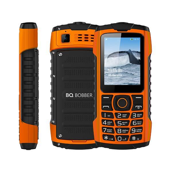 Телефон BQ-2439 Bobber (Оранжевый)