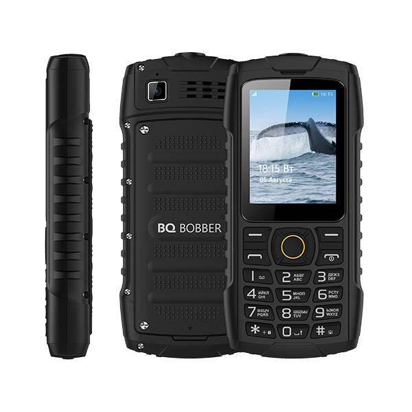 Телефон BQ-2439 Bobber (Черный)