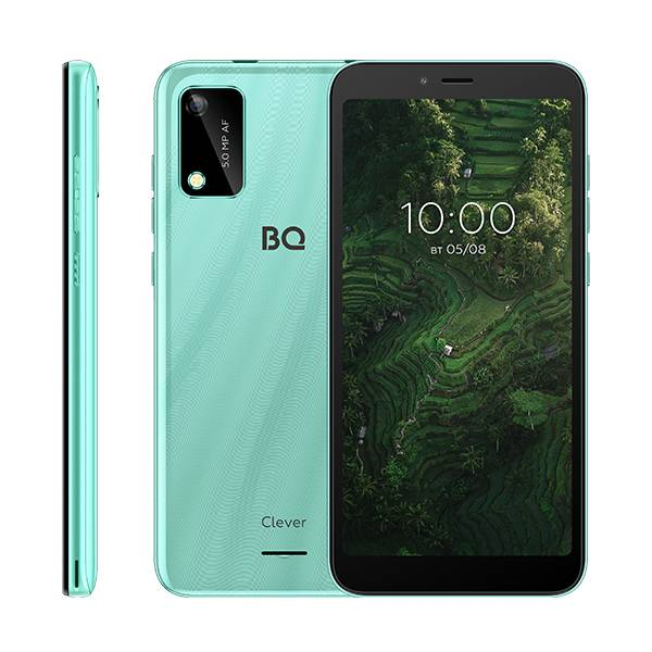 Смартфон BQ 5745L Clever (Светло-синий)