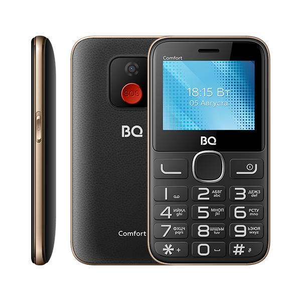 Телефон BQ 2301 Comfort (Золотой)