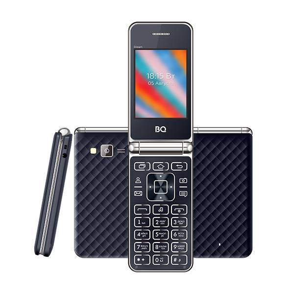 Телефон BQ 2445 Dream (Тёмно-синий)