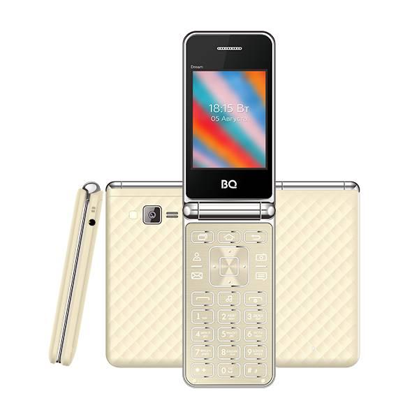 Телефон BQ 2445 Dream (Золотой)