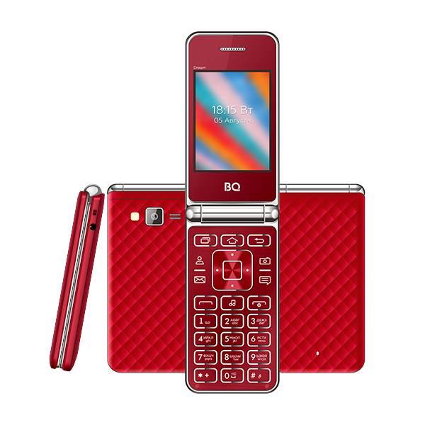 Телефон BQ 2445 Dream (Красный)