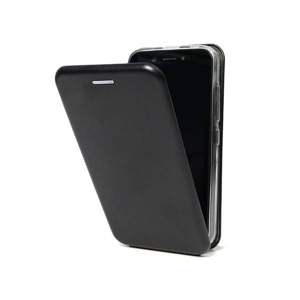 Чехол-флип для BQ-5012L Rich (эко кожа+силиконовый) (Черный)