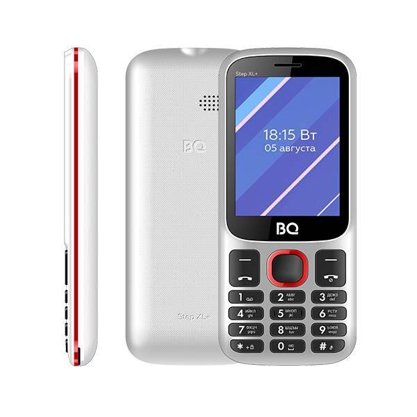 Телефон BQ 2820 Step XL+ (Бело-Красный)