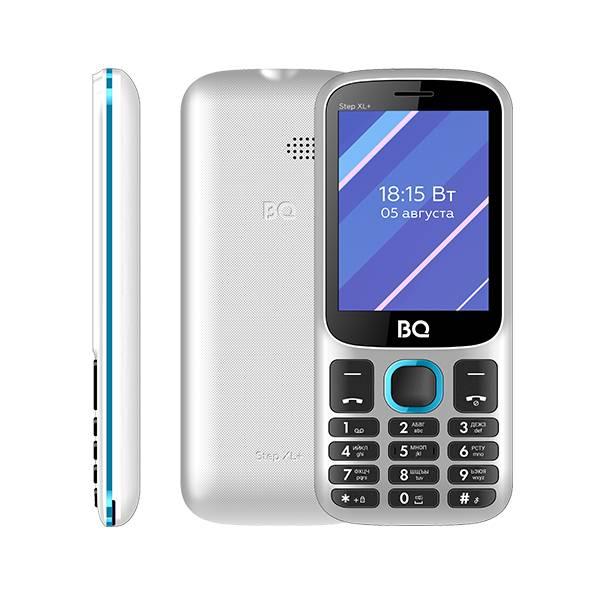 Телефон BQ 2820 Step XL+ (Бело-синий)