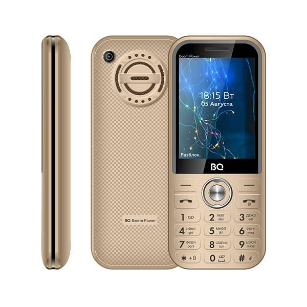 Телефон BQ 2826 Boom Power (Золотой)