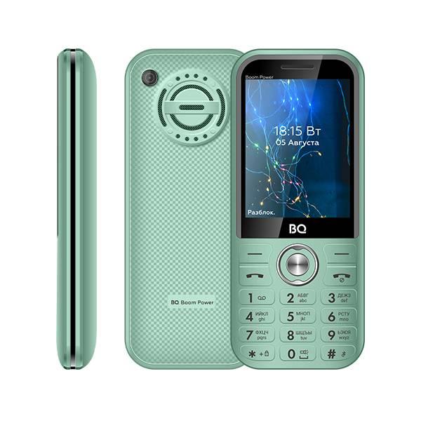 Телефон BQ 2826 Boom Power (Мятно-синий)
