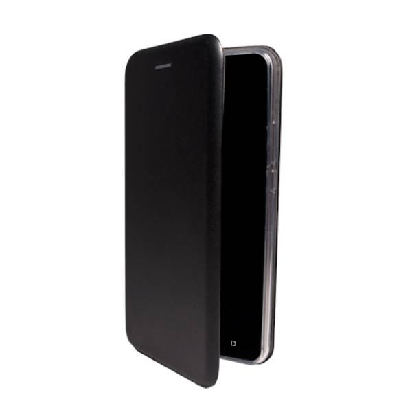 Чехол-книжка для BQ-4500L Fox LTE (эко кожа+силиконовый) (Черный)