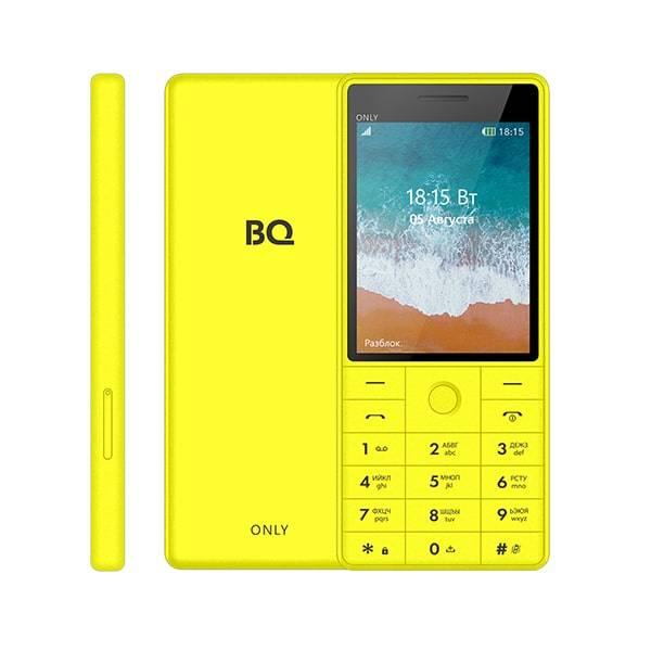 Телефон BQ 2815 Only (Желтый)
