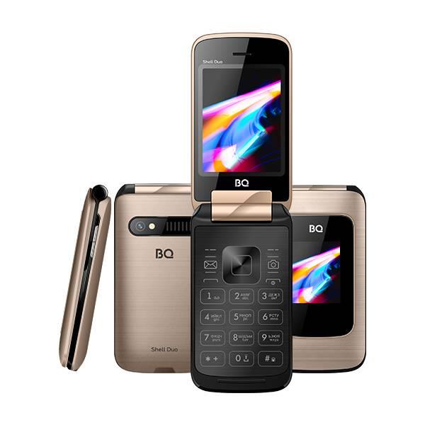 Телефон BQ 2814 Shell Duo (Золотой)