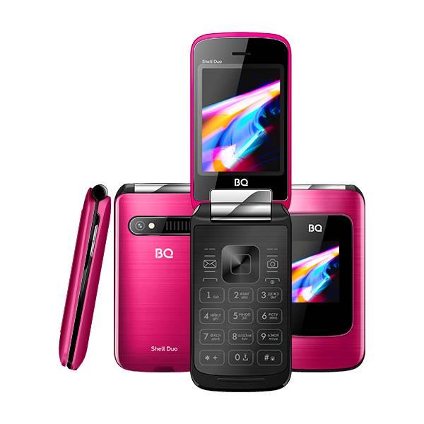 Телефон BQ 2814 Shell Duo (Розовый)