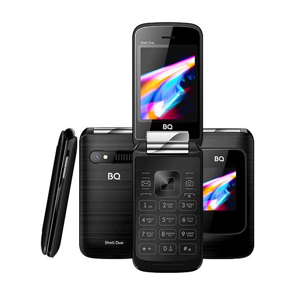 Телефон BQ 2814 Shell Duo (Черный)