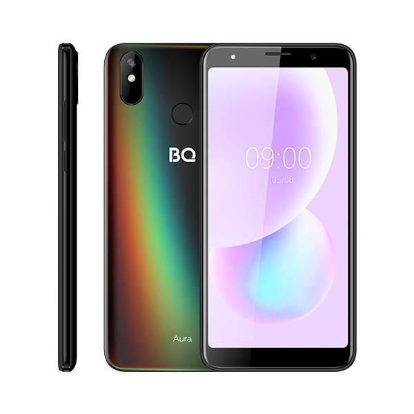 Смартфон BQ 6022G Aura (Черный флюид)
