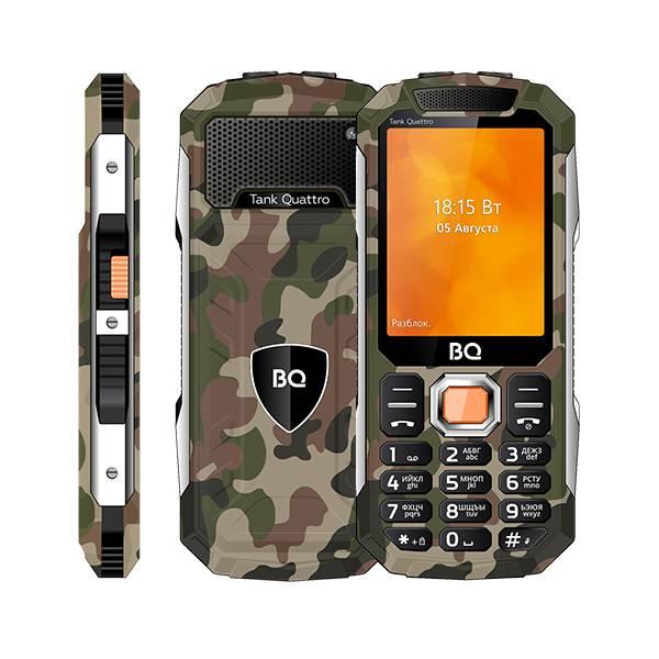Телефон BQ 2819 Tank Quattro (Камуфляж)