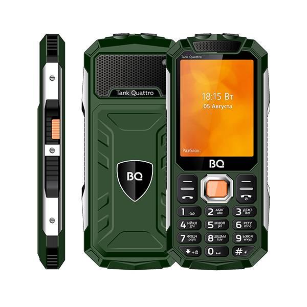Телефон BQ 2819 Tank Quattro (Зеленый)