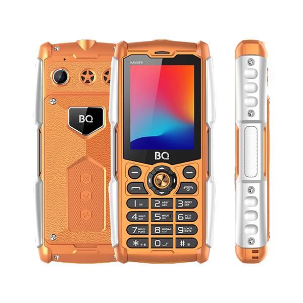 Телефон BQ 2449 Hammer (Оранжевый)