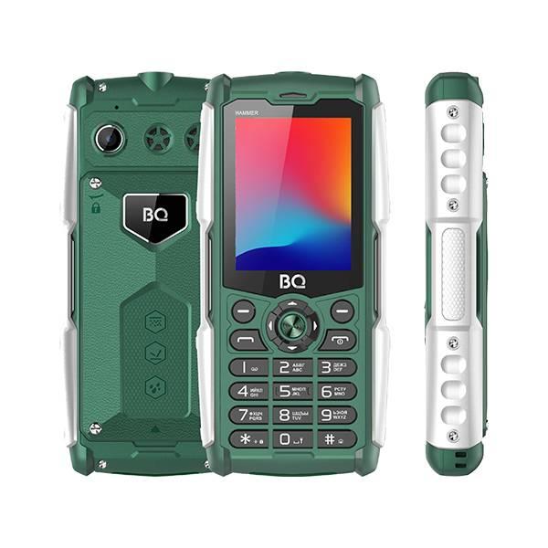 Телефон BQ 2449 Hammer (Зеленый)